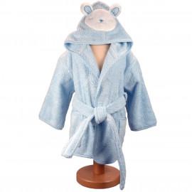 Peignoir personnalisé bébé en forme de mouton