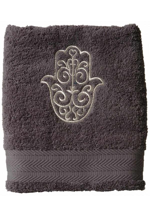 Serviette de bain 100x150 cm Brodée Main de Fatma