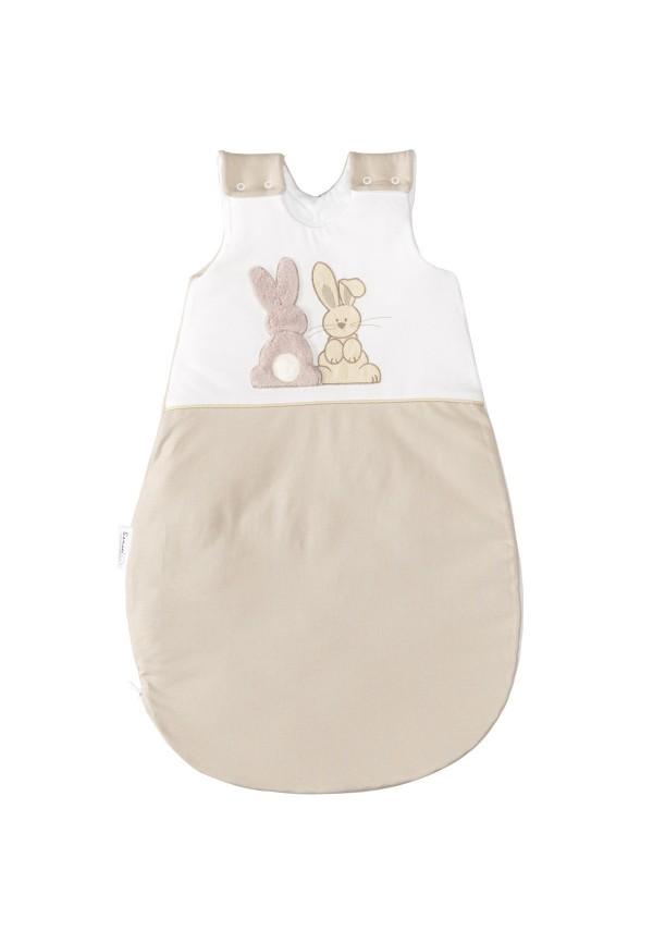 Gigoteuse bébé coton jersey Pompon Le Lapin à personnaliser