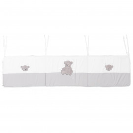 Tour de lit bébé coton jersey Ours Ares