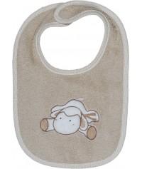 Bavoir brodé Doudou Mouton