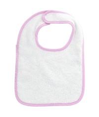 Bavoir bébé personnalisé uni 100% coton