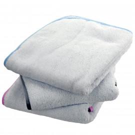 Serviette de bain unie personnalisée 100x100cm