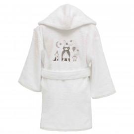 Peignoir personnalisé bébé Fantomas (2 à 6 ans)