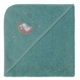 Cape de bain personnalisée brodée Moon Rabbit