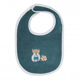 Bavoir personnalisé brodé Baby Fox
