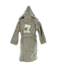 Peignoir personnalisé bébé brodé Paddy (1 et 2 ans)