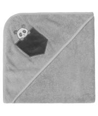 Cape de bain personnalisée brodée Panda